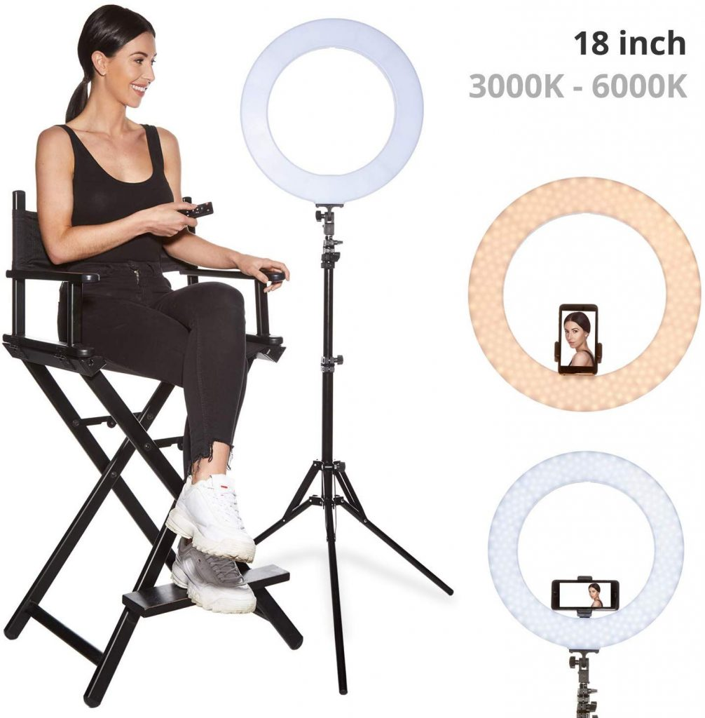 "Inkeltech 18"" Ring light kit"
