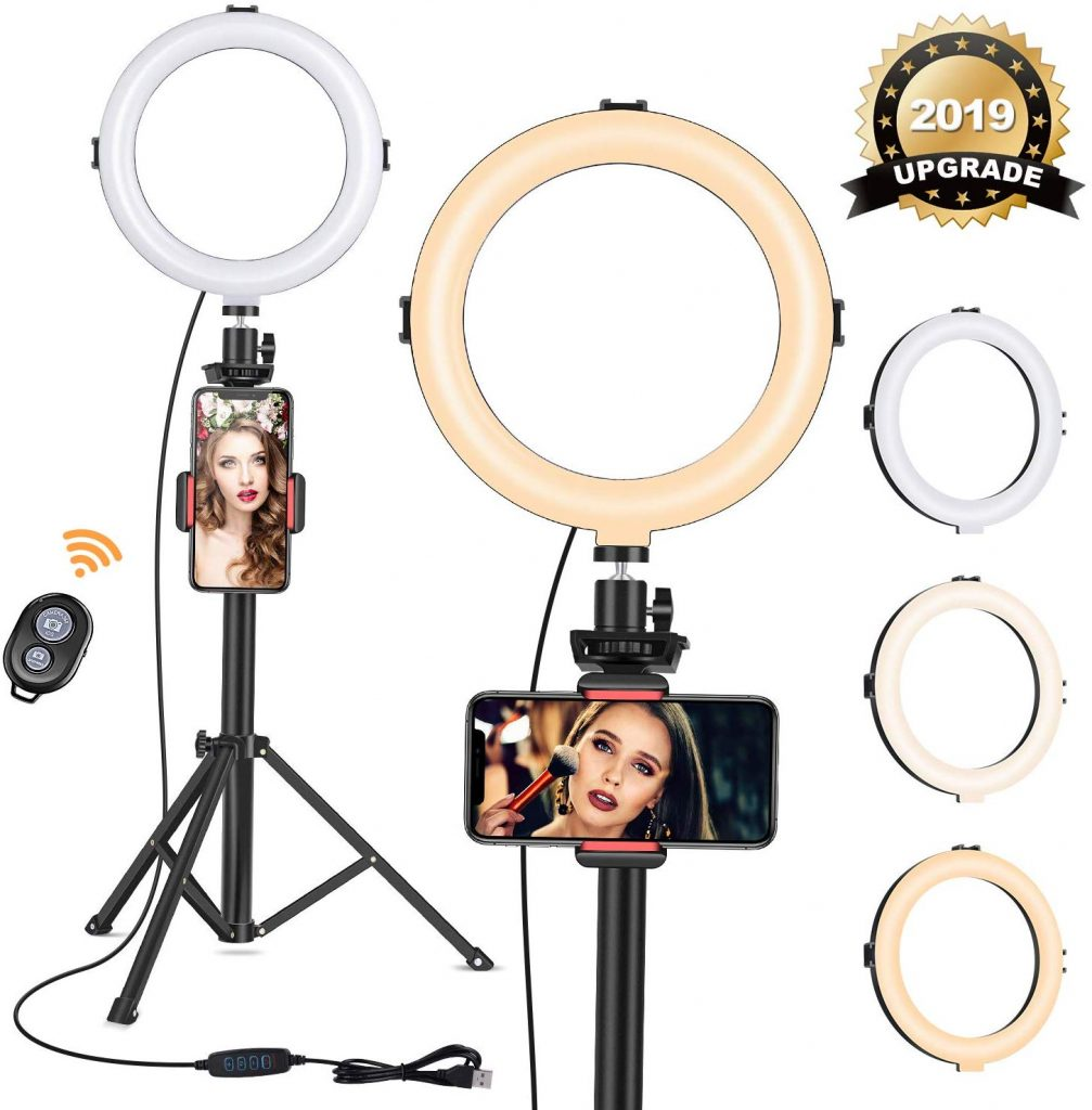 Viewnow ring light with tripod kit