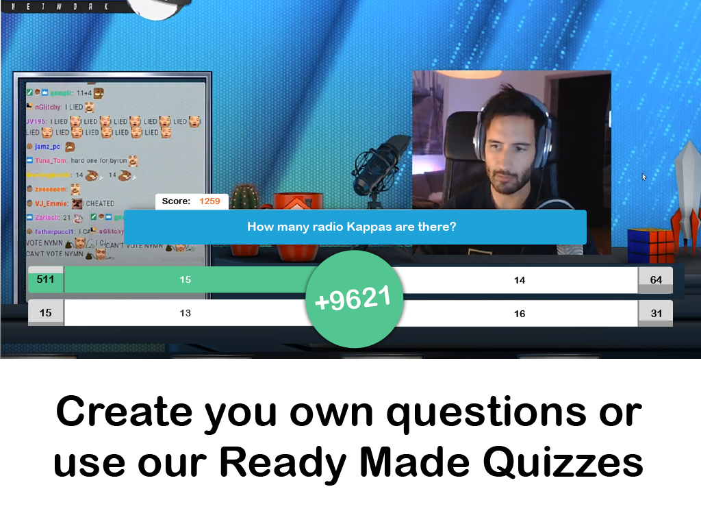 Quiz Kit Twitch Extension