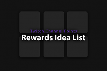 Twitch Channel Points Rewards Banner Image